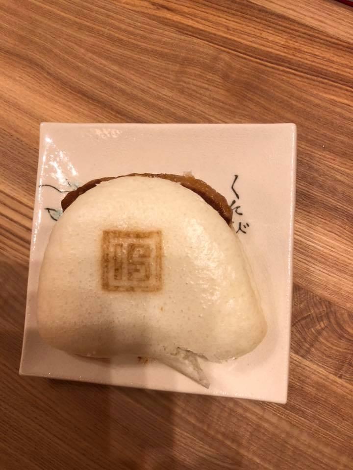 副理事長の長崎土産の角煮まん